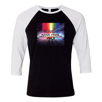 Star Trek: The Motion Picture 40th Anniversary U.S.S. Enterprise 3/4 Sleeve Baseball T-Shirt