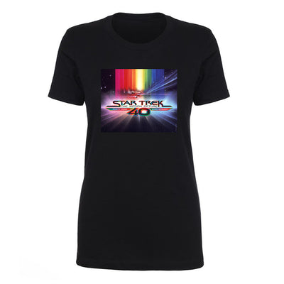 Star Trek: The Motion Picture40th Anniversary U.S.S. EnterpriseWomen's Short Sleeve T-Shirt