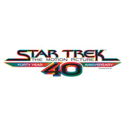 Star Trek: The Motion Picture40th Anniversary Logo Adult Short Sleeve T-Shirt