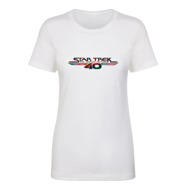Star Trek: The Motion Picture40th Anniversary Logo Women's Short Sleeve T-Shirt