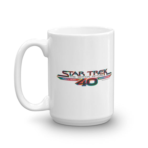 Star Trek: The Motion Picture 40th Anniversary Logo Mug