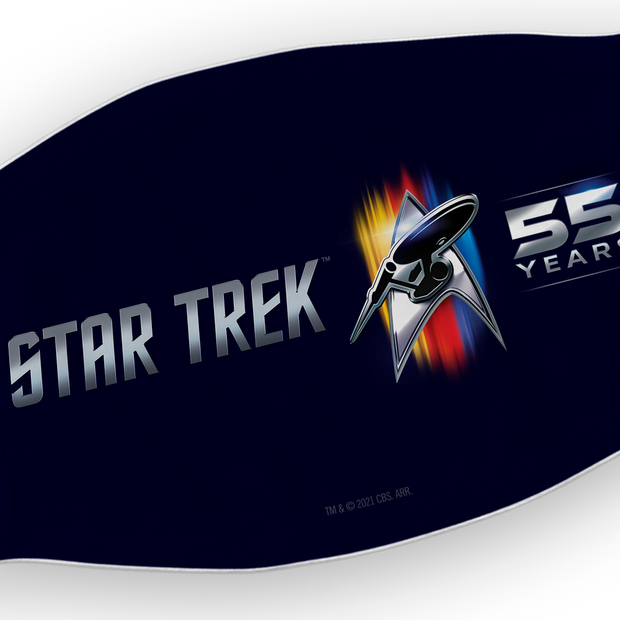 Star Trek 55th Anniversary NA Washable Face Mask