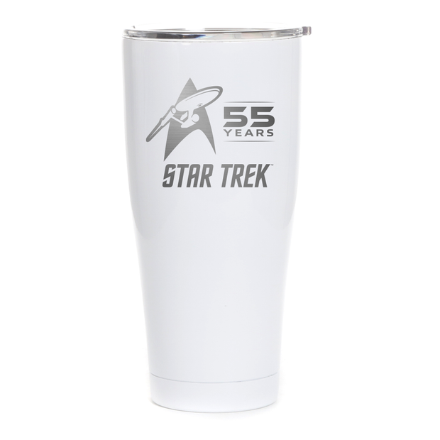 Star Trek 55th Anniversary Laser Engraved SIC Tumbler