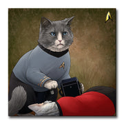 Star Trek: The Original Series McCoy Cat Premium Gallery Wrapped Canvas