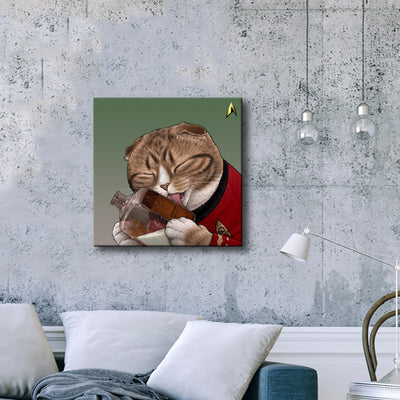 Star Trek: The Original Series Milk Cat Premium Gallery Wrapped Canvas