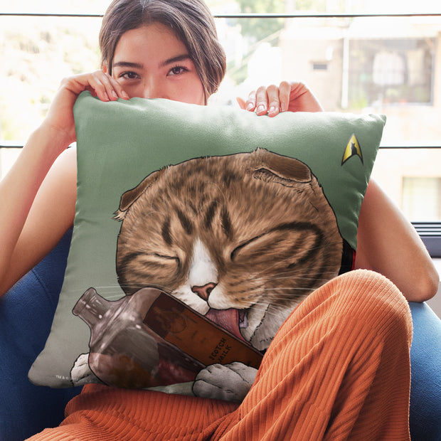 "Star Trek: The Original Series Milk Cat Pillow - 16"" x 16"""