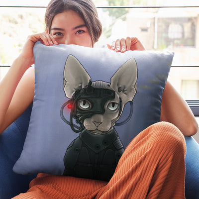 "Star Trek: The Next Generation Borg Cat Pillow - 16"" x 16"""