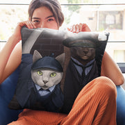 "Star Trek: The Next Generation Detective Cats Pillow - 16"" x 16"""