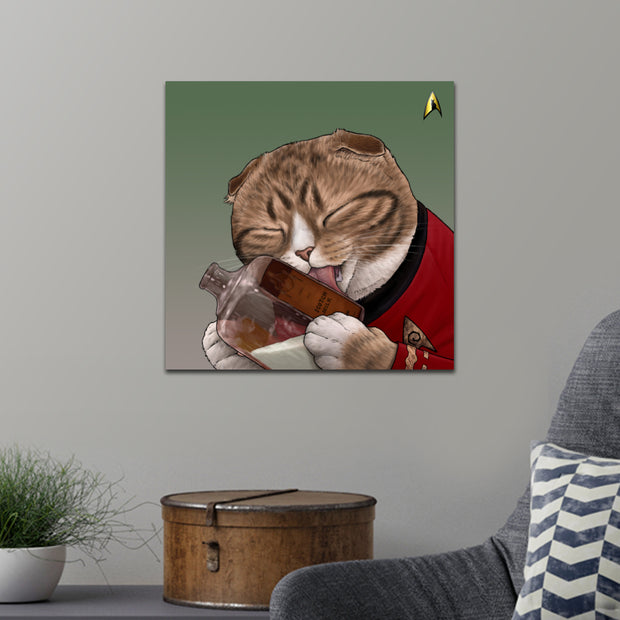 Star Trek: The Original Series Milk Cat Premium Satin Poster