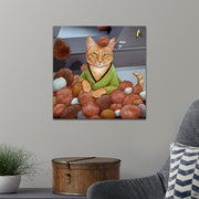 Star Trek: The Original Series Tribble Cat Premium Satin Poster