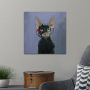 Star Trek: The Next Generation Borg Cat Premium Satin Poster