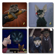 Star Trek: The Next Generation Cats Coaster Set of 4