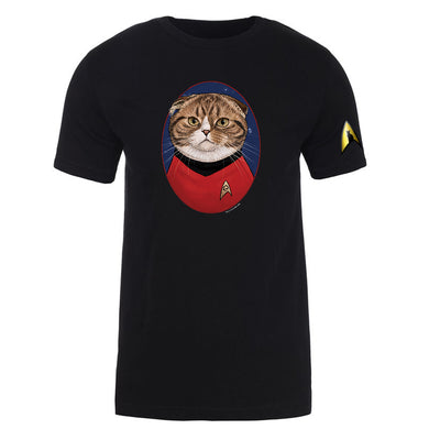 Star Trek: The Original Series Scotty Cat Portrait Short Sleeve T-Shirt