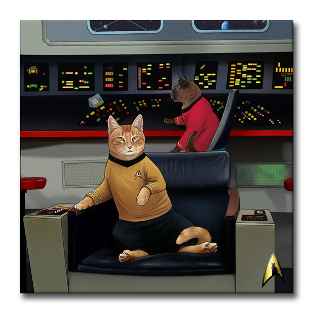 Star Trek: The Original Series Kirk's Chair Premium Gallery Wrapped Canvas