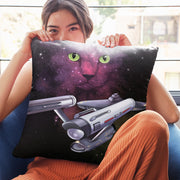 "Star Trek: The Original Series Space Cat Pillow - 16"" x 16"""