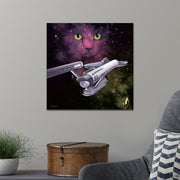 Star Trek: The Original Series Space Cat Premium Satin Poster