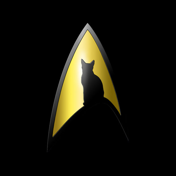 Star Trek: The Original Series Spock Cat Portrait Short Sleeve T-Shirt