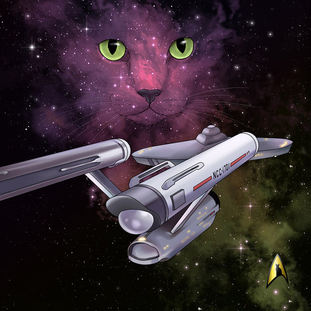 Star Trek: The Original Series Space Cat Tote Bag