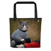 Star Trek: The Original Series McCoy Cat Tote Bag