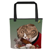 Star Trek: The Original Series Milk Cat Tote Bag