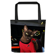 Star Trek: The Original Series Uhura Cat Tote Bag