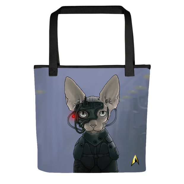 Star Trek: The Next Generation Borg Cat Tote Bag