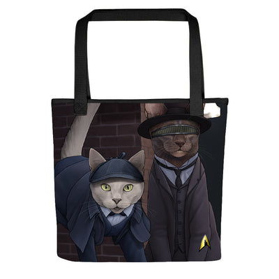 Star Trek: The Next Generation Detective Cats Tote Bag