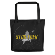 Star Trek: Discovery Logo Sketch Premium Tote Bag