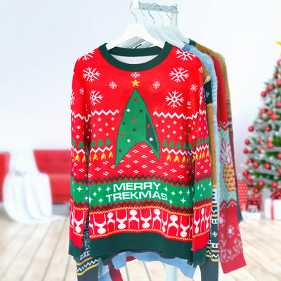 Star Trek: Discovery Merry Trekmas Knit Sweater