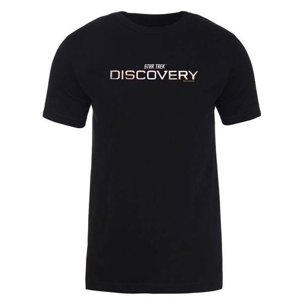 Star Trek: Discovery Season 3 Logo Adult Short Sleeve T-Shirt