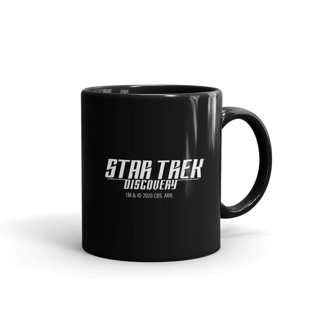 Star Trek: Discovery Season 3 United Federation of Planets Flag Black Mug