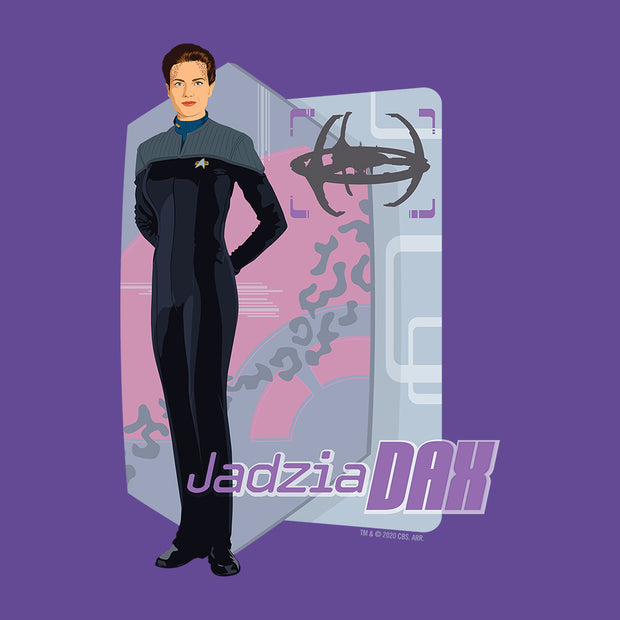 Star Trek: Deep Space Nine Jadzia Dax Women's Tri-Blend Dolman T-Shirt