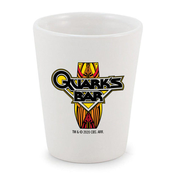Star Trek: Deep Space 9 Quark's Bar Vintage Logo Shot Glass