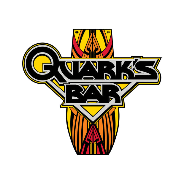 Star Trek: Deep Space Nine Quark's Bar Vintage Logo Shot Glass