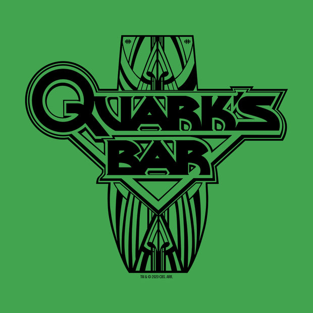Star Trek: Deep Space 9 Quark's Bar Vintage St. Patrick's Day Adult Short Sleeve T-Shirt
