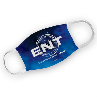 Star Trek: Enterprise ENT Washable Face Mask