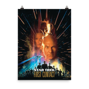 Star Trek VII Generations: First Contact Movie Poster