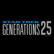 Star Trek : Generations 25 LogoAdult Long Sleeve T-Shirt