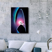 Star Trek: Generations Delta Gallery Wrapped Canvas