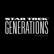 Star Trek: Generations Logo Laser Engraved Notebook