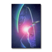 Star Trek: Generations Kirk & Picard Gallery Wrapped Canvas