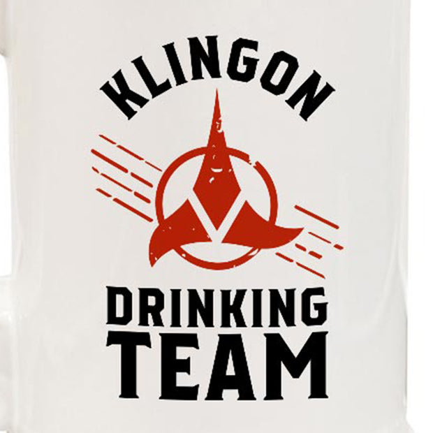 Star Trek Klingon Drinking Team 20oz Ceramic Beer Stein