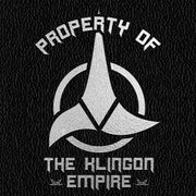 Star Trek Klingon Property Of Journal
