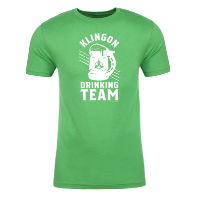 Star Trek Klingon Klingon St Pat Adult Short Sleeve T-Shirt