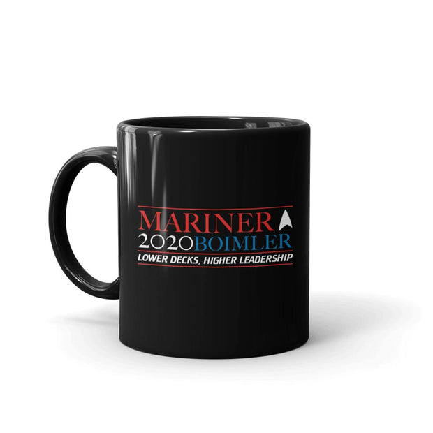 Star Trek: Lower Decks Mariner Boimler 2020 Black Mug