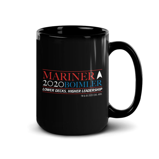 Star Trek: Lower Decks Mariner Bolmler 2020 Black Mug