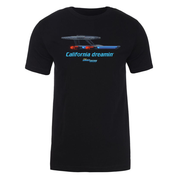 Star Trek: Lower Decks California Dreamin Adult Short Sleeve T-Shirt