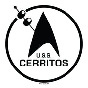 Star Trek: Lower Decks Cerritos Bar Logo Adult Short Sleeve T-Shirt