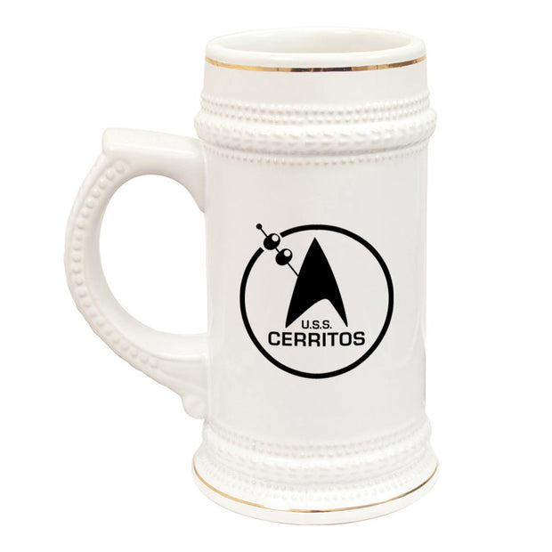 Star Trek: Lower Decks Cerritos Bar Logo Beer Stein