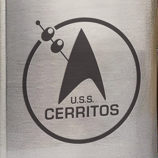 Star Trek: Lower Decks Cerritos Bar Logo Stainless Steel Flask